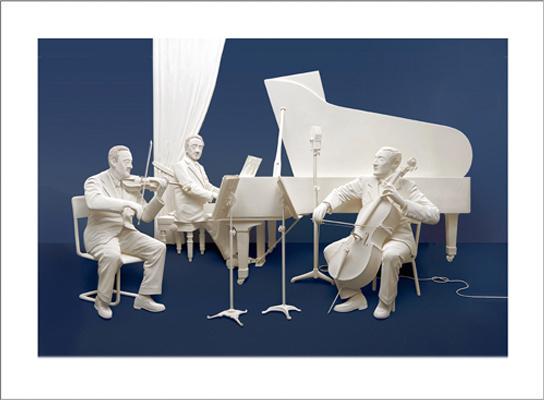 Reinhard Studio - Paper Sculpture - Fine Art Giclee Prints ...